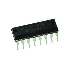 AM26LS31CN Quad RS-422, V.11 Line Transmitter Differential 5 V, 16-Pin PDIP