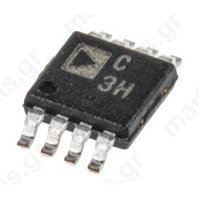 AD7680BRMZ, 16 bit Serial ADC, 8-Pin MSOP