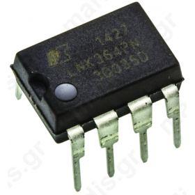 LNK364PN, Intelligent Power Switch, Off Line Switcher, 85V, 9W, 7-pin, PDIP-8B