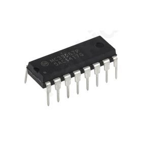 MC33067PG, PWM Voltage Mode Controller, 16-pin PDIP