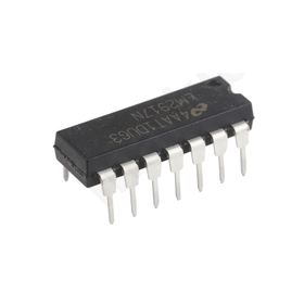 I.C LM2917N/NOPB, Frequency to Voltage Converter ±1%FSR, 14-pin MDIP