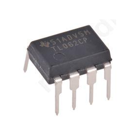 TL062CP, Dual Op Amp, 1MHz, 8-Pin PDIP