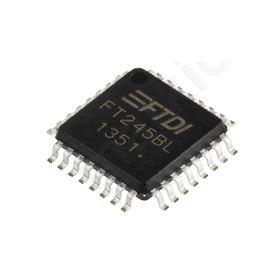 I.C  FT245BL, FIFO Memory, Single, Bi-Directional, 3  5.25 V, 4.35  5.25 V, 32-pin LQFP