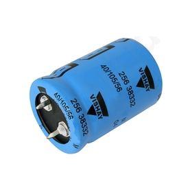 6800΅F 63 V Aluminium Electrolytic Capacitor, 256 Series 2000h 36 Dia. x 32mm