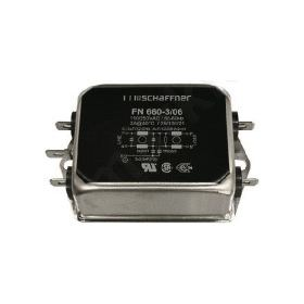 ΦΙΛΤΡΟ Schaffner 6A 250 V ac 400Hz Flange Mount Power Line Filter, with Screw Terminals