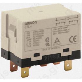 ΡΕΛΕ ΙΣΧΥΟΣ OMRON G7L2 24VDC 5.5 kVA