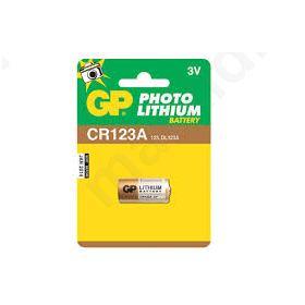 ΜΠΑΤΑΡΙΑ ΛΙΘΙΟΥ CR123A 3V GP