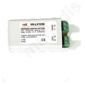 LED DRIVER 12V/36W VK - LV1236