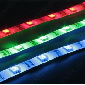 ΤΑΙΝΙΑ LED ΕΣΩΤ. IP20 24V 7.2W/M RGB SVEL-A5050 (τιμή μέτρου)
