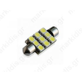 ΛΑΜΠΑΚΙ LED FESTON BGA-S8.5 44-9SMD-W SMD5050  10x44mm