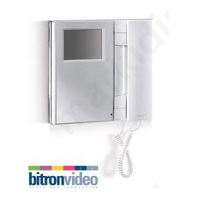 ΜΟΝΙΤΟΡ AV1423/001 B/W T-LINE Bitron