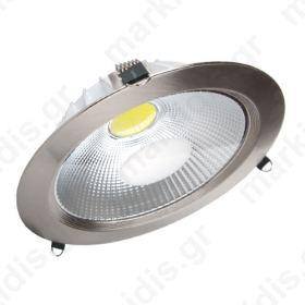 ΦΩΤΙΣΤΙΚΟ PL LED DOWNLIGHT 25W VT-1425 WARM WHITE