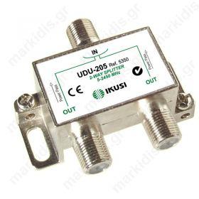 IKUSI UDU-205, ,Διακλαδωτής σειράς UDU με 2 εξόδους.