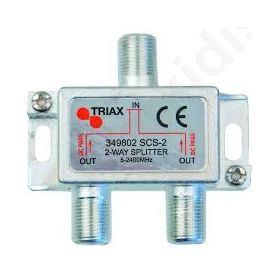 TRIAX SCS-2, Διακλαδωτής με 2 εξόδους, 1 είσοδο