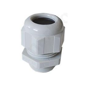 Στυπιοθλήπτης καλωδίου βιδωτός PG13.5 Πλαστικός λευκός