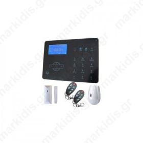 TCS-3W, GSM/PSTN ολοκληρωμένο σύστημα συναγερμού