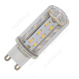ΛΑΜΠΑ LED G9 6 SMD LED 3000K