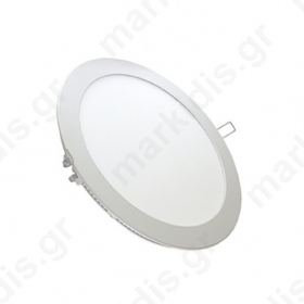 Φωτιστικό PL Led 18w 3000k ml round