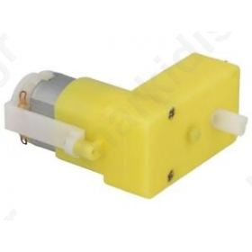 SF-ROB-13258 Motor: DC; angular, with plastic gearbox; 3 - 6VDC; 48:1; 65rpm