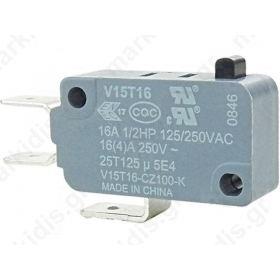 V15T16-CZ100, Μικροδιακόπτης Ελλάσματος 3 Επαφών
