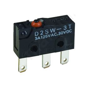 Microswitch without lever SPDT 3A/125VAC 3A/30VDC ON-(ON)