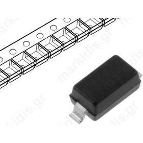 MMSZ4678T1G, Diode: Zener; 0.5W; 1.8V; SMD; tape