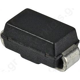 ΔΙΟΔΟΣ SMD; 600V; 1A; Package: tape; DO214AC