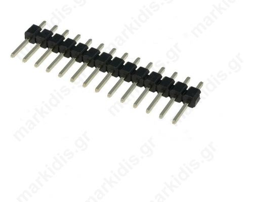 ΑΚΙΔΟΣΕΙΡΑ ZL201-14G  PIN:14; straight; 2.54mm; THT; 1x14