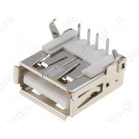 CONNECTOR USB Α ΓΙΑ ΠΛΑΚΕΤΑ USBA-G
