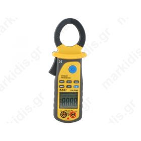 Digital clamp meter; LCD (4000); I AC:40/400A; V DC:4?400V