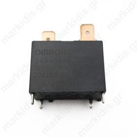Ρελέ τυπωμένου OMRON 12VDC max:20A (G4A-1A-E 12VDC)
