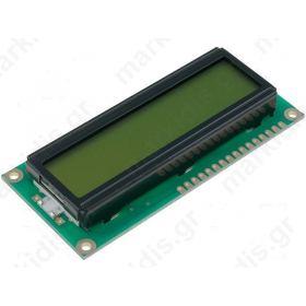 ΟΘΟΝΗ LCD 2Χ16 RC1602B