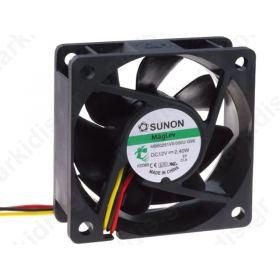 BLOWER 12VDC 60X60X25MM ΜΕ 3 ΚΑΛΩΔΙΑ