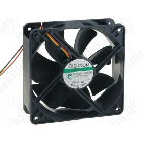 BLOWER 12VDC 120X120X38mm 10W