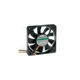 PF80201V1-G99, BLOWER 12VDC 80x80x20mm 90.04m3/h