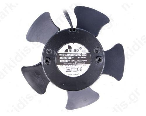 UF15PE23,BLOWER 230V ρουλεμάν 144X53mm 48dBA