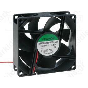 BLOWER 24VDC 80X80X25mm ΡΟΥΛΕΜΑΝ