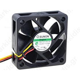 ME50152V1-G99,  Fan: DC axial 24VDC 50x50x15mm 31.6m3/h 40.1dBA Vapo 6.6mmH2O