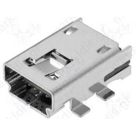 SOCKET USB A MINI PIN 4