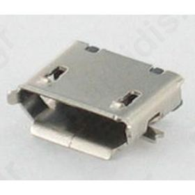 207A-BBA0-R Socket; USB B micro  SMT  PIN 5 V: USB 2.0  gold plated