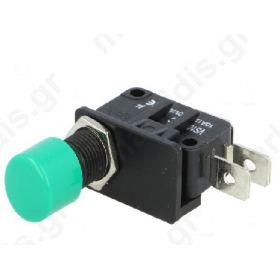 ΔΙΑΚΟΠΤΗΣ Push-button; SPDT; 10A/250VDC; ON-(ON); 1-position; -25χ 70°C