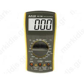 Πολύμετρο ψηφιακό AXIOMET AX-100