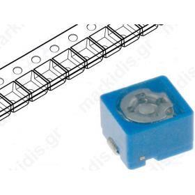 TZB4Z060AB10R00, ΤΡΙΜΜΕΡ 2pF χ 6pF; SMD; blue; 100VDC