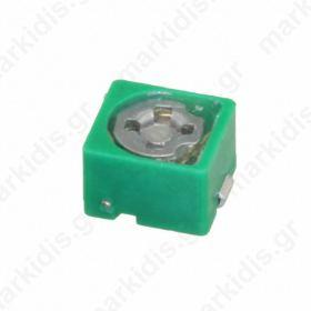 TZB4P300AB10R00, ΤΡΙΜΕΡ  6.5pF χ 30pF; SMD; green; 100VDC
