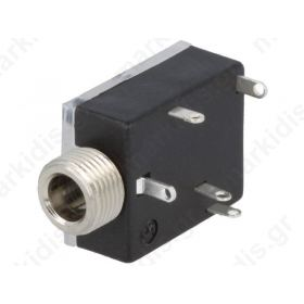 1503 17, Socket; Jack 3,5mm; female; stereo, with double switch; ways:3