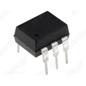 MOC3083M Optotriac; 5.3kV; Uout:800V; zero voltage crossing driver; DIP