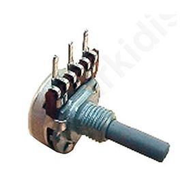 PRP185-47K-B Potentiometer: shaft; single turn; 47k Ω; 100mW; ±20%; THT; 6mm