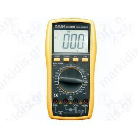 ΠΟΛΥΜΕΤΡΟ ΨΗΦΙΑΚΟ LCD 3,5 digit 28mm; -40-1000°C;