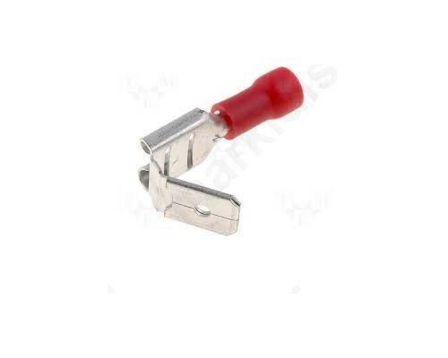 ΑΚΡΟΔΕΚΤΗΣ ST-020/R flat; 6.3mm; 0.8mm; female/male; 0.5x1.5mm2; crimped