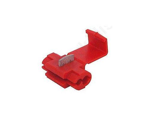 ΑΚΡΟΔΕΚΤΗΣ ST-100/R,IDC 0.5 1.5mm2 red